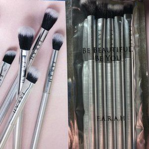 FARAH Be You Be Beautiful 5pc Sealed Brushes NWT